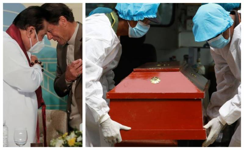 PM Imran thanks Sri Lanka for allowing burials of Muslim COVID-19 victims