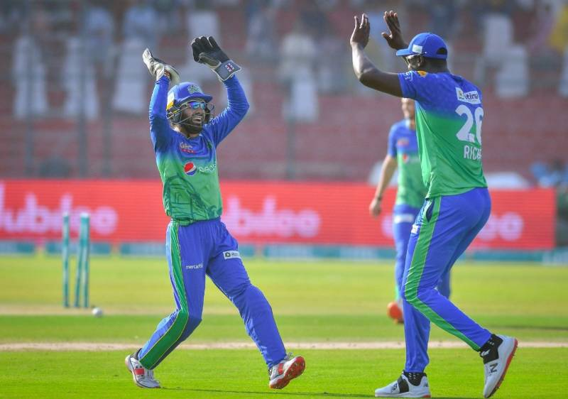 PSL 2021 - Multan Sultans beat Lahore Qalandars by 7 wickets
