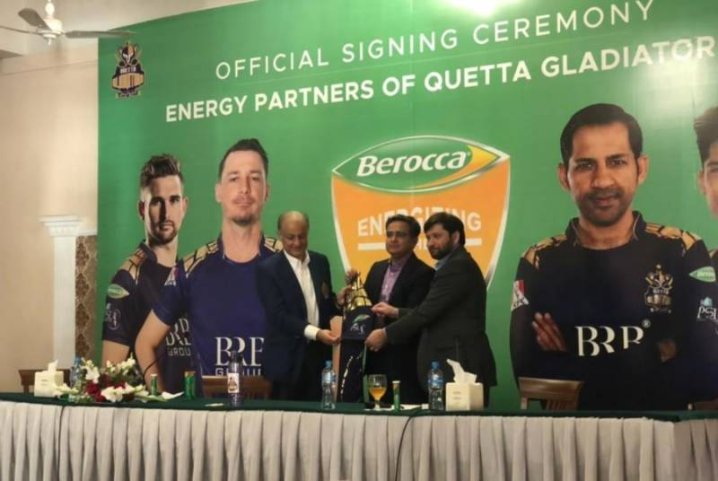 Bayer's Berocca joins hands with Quetta Gladiators as official energy partner for HBL PSL 6
