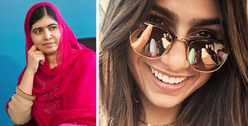Malala Yousafzai and Mia Khalifa are besties!