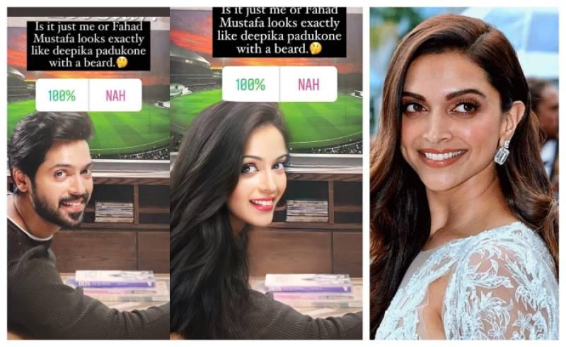 Netizens think Fahad Mustafa look like Deepika Padukone with a beard