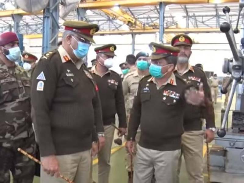 Pakistan's top commander visits logistics installations and workshop in Rawalpindi