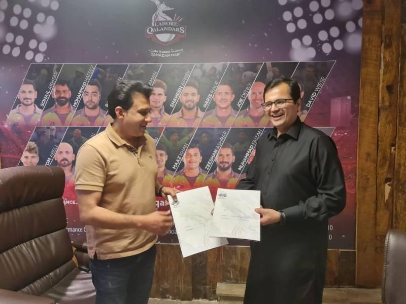 Lahore Qalandars sign Digital Media Partnership with Daily Pakistan