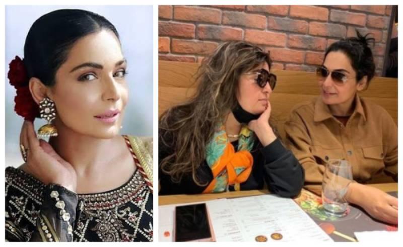 Meera meets Bigg Boss 4 contestant Dolly Bandra in Dubai