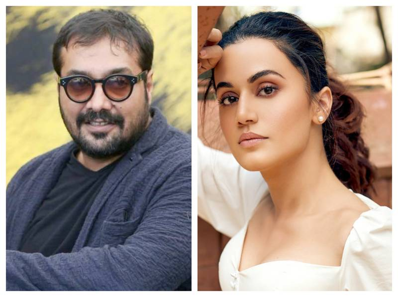 Anurag Kashyap and Taapsee Pannu face raids over 'tax evasion'