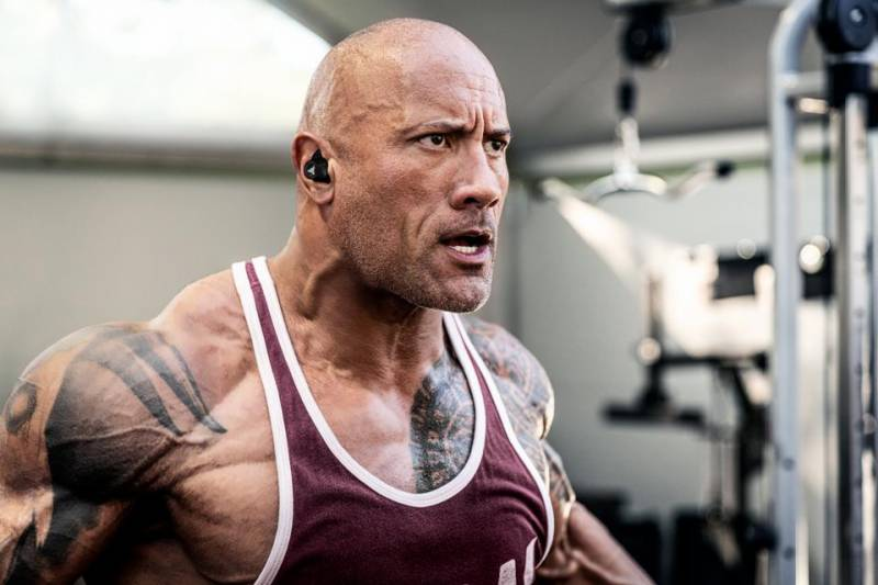 The Rock shares his experience after trying cupping therapy for the first time