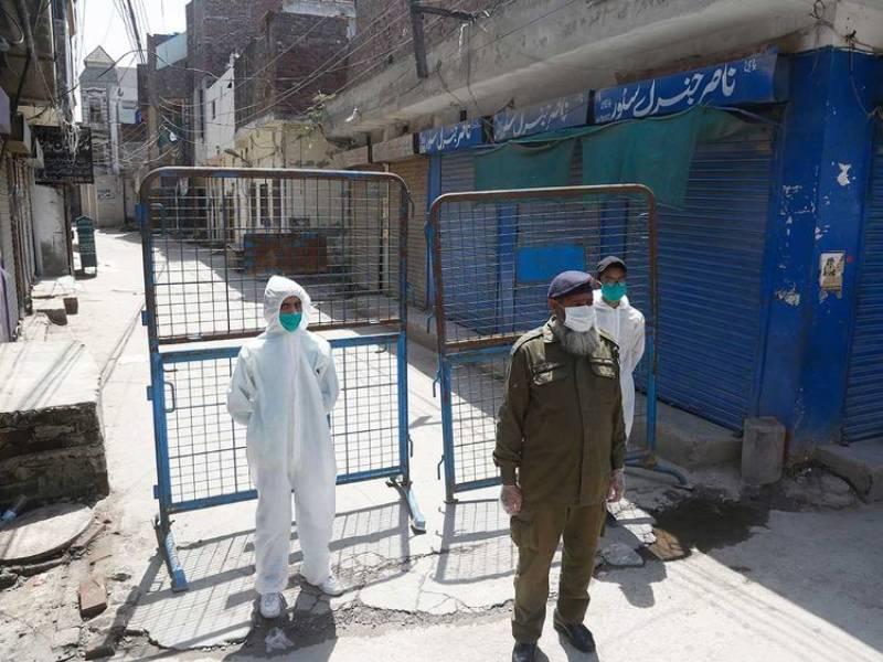 Smart lockdown imposed in Lahore's various coronavirus hotspot areas