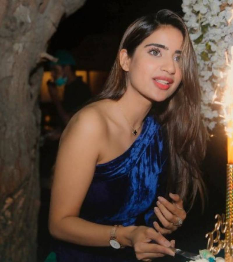 Saboor Aly celebrates 26th birthday in style