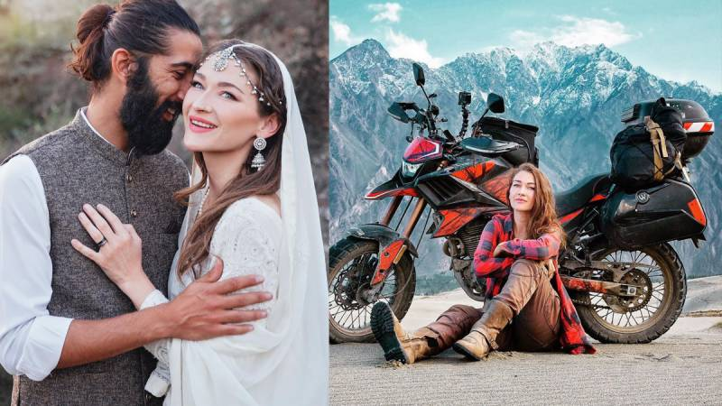 Canadian biker girl Rosie Gabrielle ties the knot with Pakistani 'soulmate'