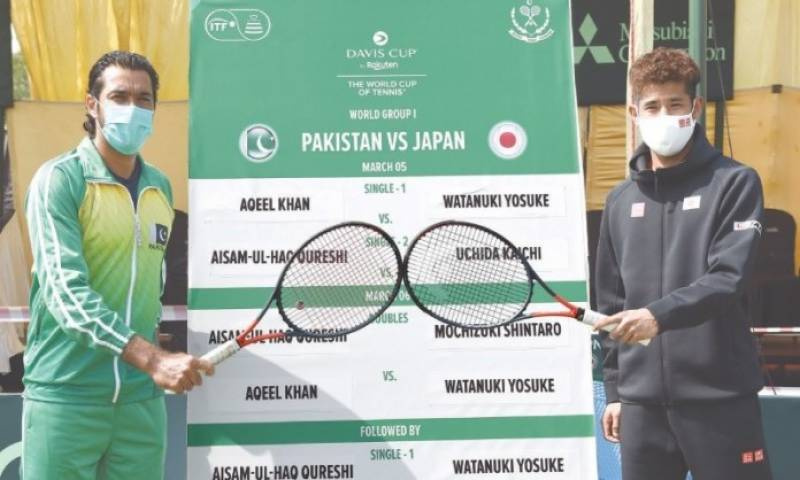 pakistan vs japan tennis
