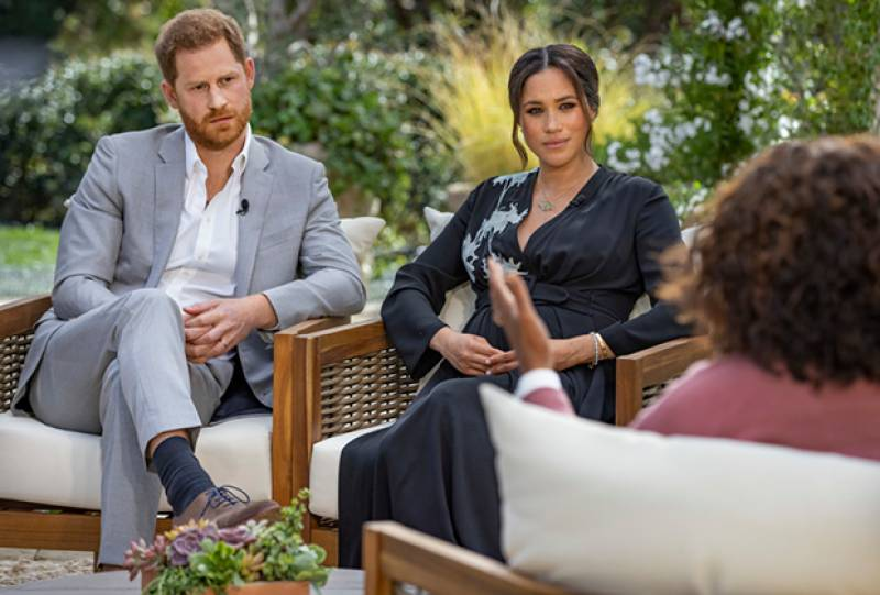 Meghan Markle and Prince Harry reveal gender of their second child in an explosive tell-all interview with Oprah Winfrey