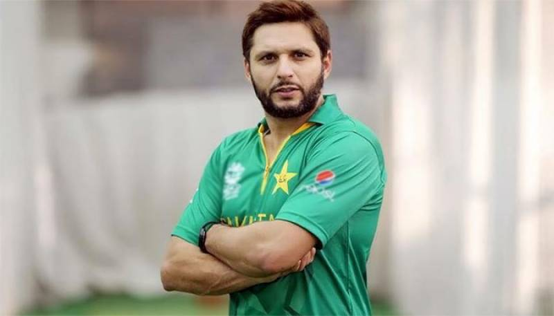 Shahid Afridi shares his thoughts on International Women's Day