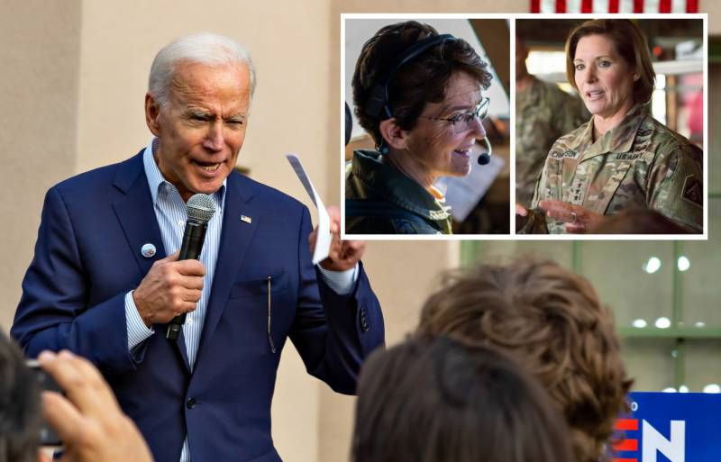 Biden nominates two female generals to lead military commands