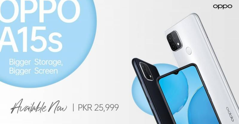 OPPO A15s launched in Pakistan, price, specifications and features