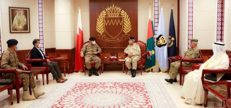 Pakistan Army chief offers Bahrain complete support in achieving shared interests