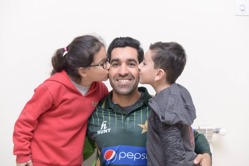 Pakistan speedster Umar Gul blessed with a baby girl