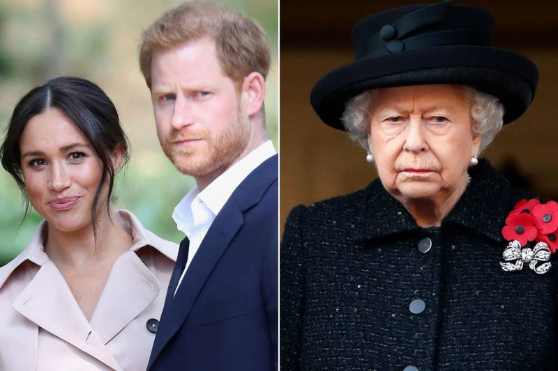 Queen breaks silence on Meghan and Harry's racism accusations