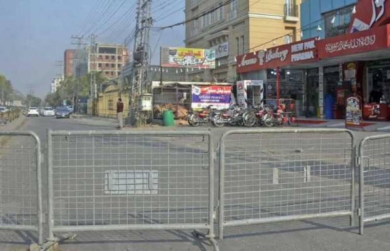 16 areas of Lahore put under smart-lockdown as UK virus strain spreads