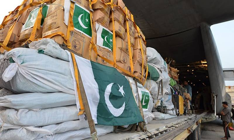 Pakistan dispatches COVID-19 relief goods to Iraq