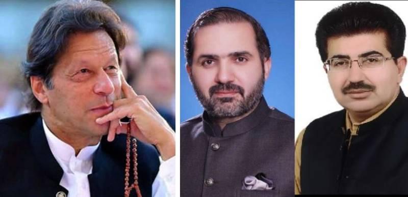 PM Imran felicitates Sanjrani, Afridi on Senate election victory