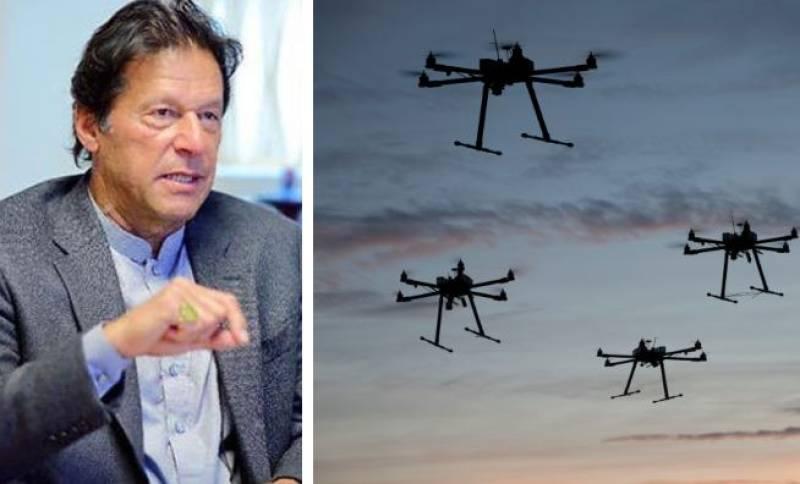 PM Imran okays establishment of Civil Drone Authority