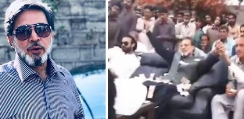 Video of aerial firing at wedding of Khawar Manika's son goes viral