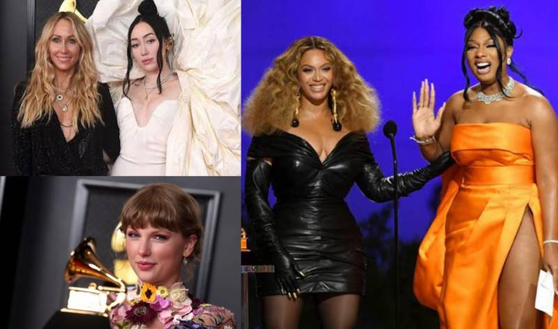 Grammy Awards 2021 – Beyonce and Taylor Swift make history