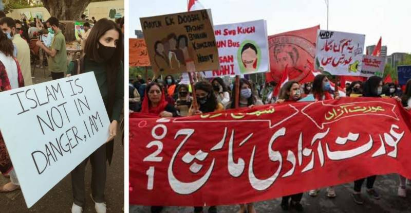 Pakistan to probe 'blasphemous' slogans, banners related to Aurat March 2021