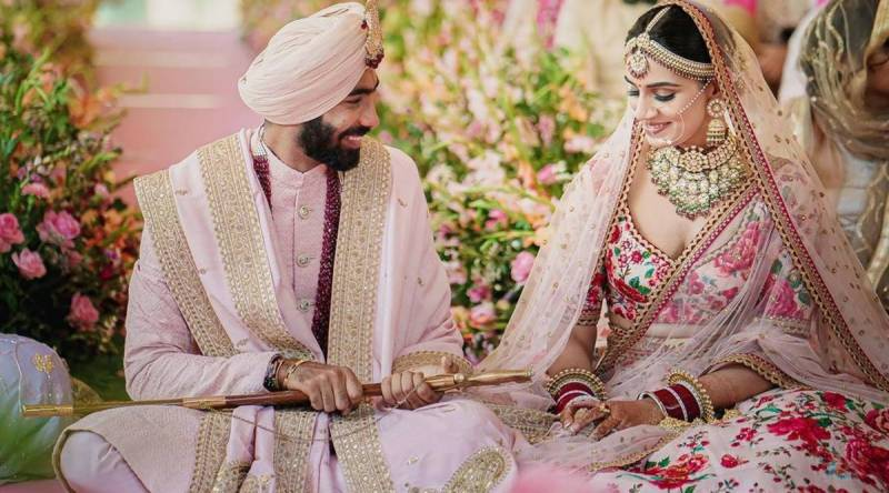 Jasprit Bumrah marries former Miss India in Goa