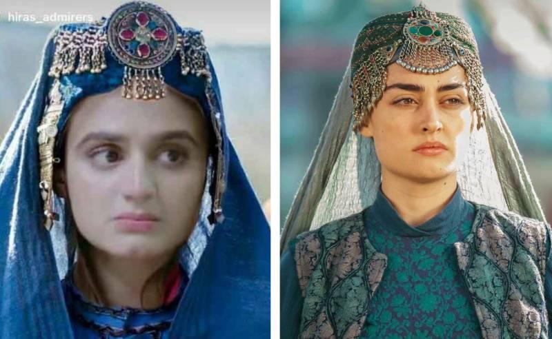 Hira Mani channels her inner Halime Sultan on Instagram