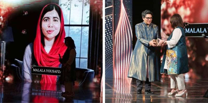 Malala Yousafzai receives Women Leaders Award