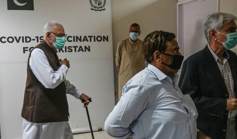Walk-in vaccination of senior citizens starts in Pakistan