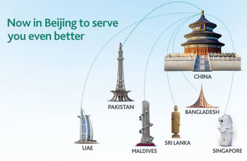 HBL creates history, becomes the first Pakistani bank to open a branch in Beijing, China