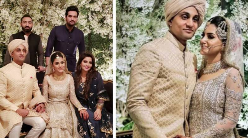 Sohai Ali Abro gets hitched to Little Master Hanif Mohammad's grandson (PICS & VIDEOS)