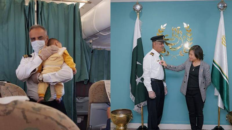 'Great people to fly with': UN honours PIA crew member for his 'act of kindness'