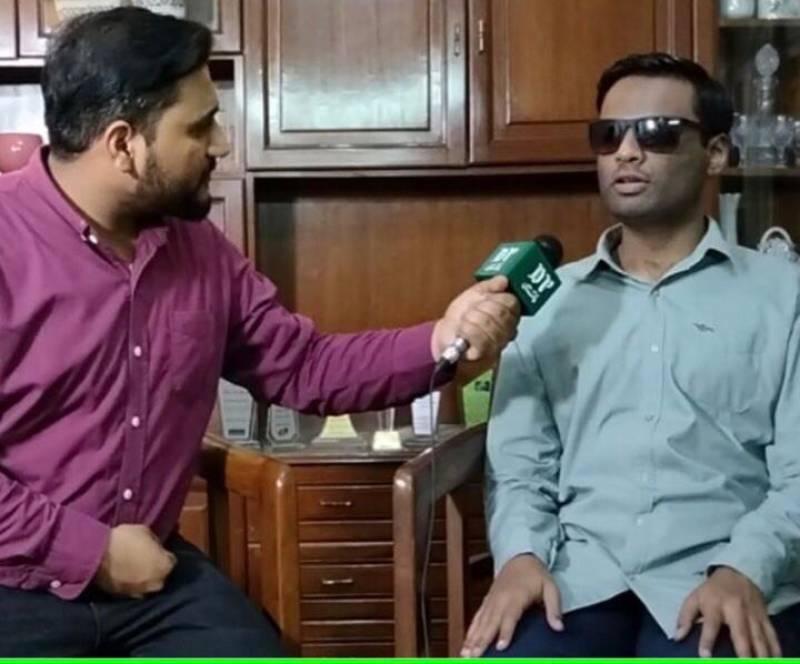 Meet Sohail Khan – the visually-impaired 'cricket encyclopedia' of Pakistan (DP Exclusive)