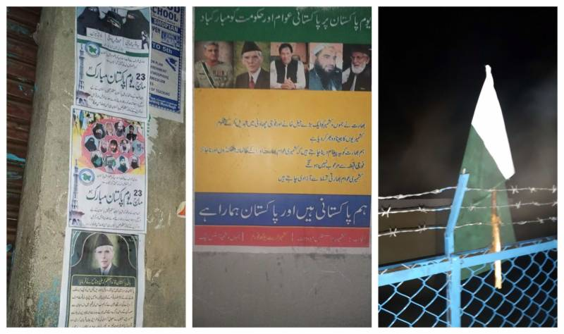 Pakistani flags, posters of PM Imran, Army Chief appear in Indian-occupied Kashmir