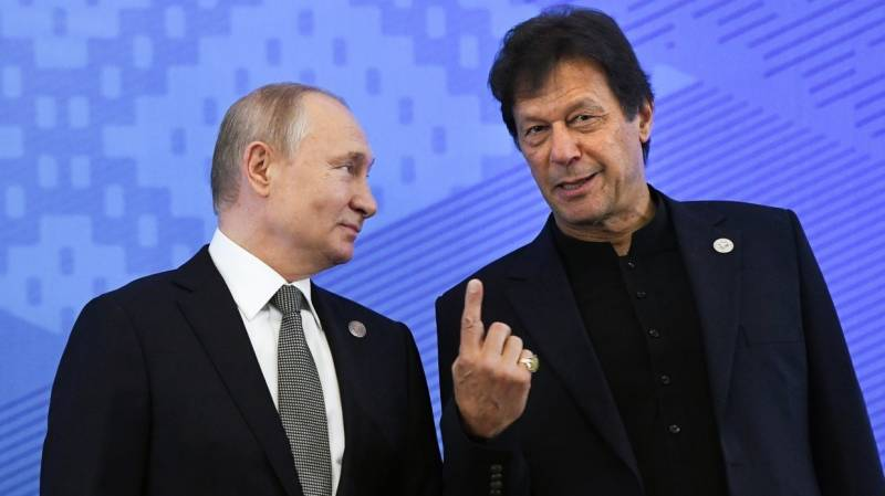 Russian President Putin greets Arif Alvi, PM Imran on Pakistan Day