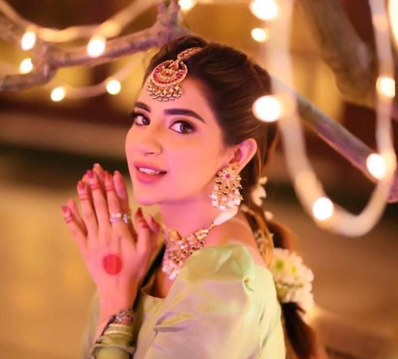 Saboor Aly's dance video goes viral