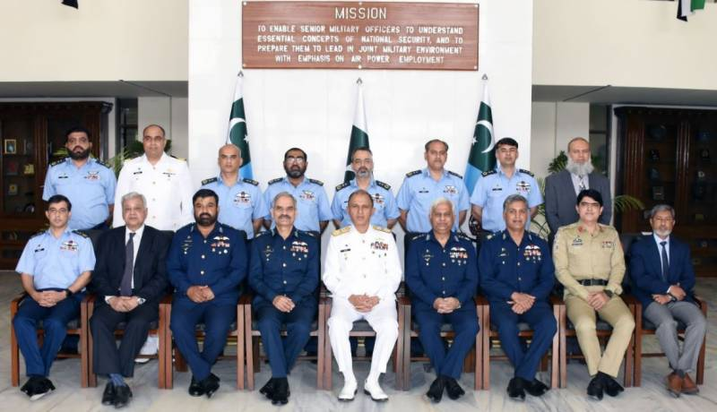 Pakistan Navy chief for endeavors to deal with complex, dynamic security environment