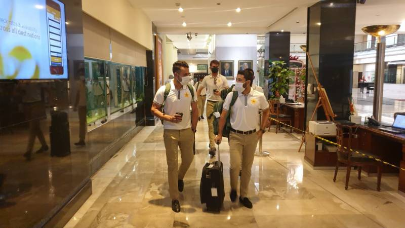 PAKvSA: Pakistan squad departs for S. Africa tour via chartered flight