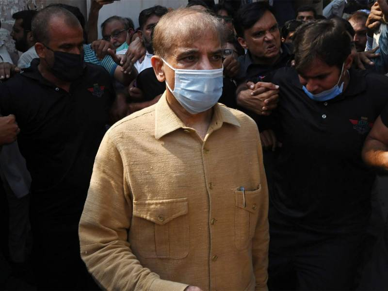 Shehbaz Sharif gets first dose of coronavirus vaccine in jail