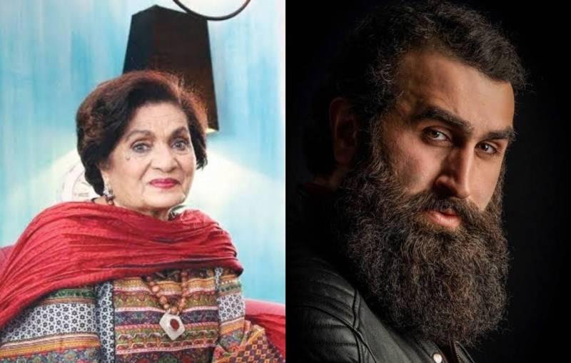 Ertuğrul's star prays for late Haseena Moin