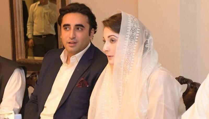 Maryam, Bilawal trade barbs over Senate opposition leader