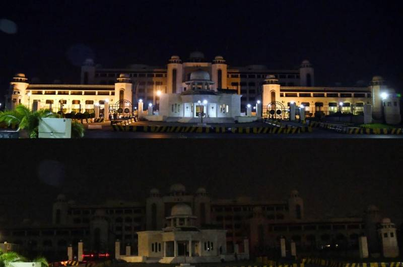 PM House goes dark for an hour to mark Earth Day (VIDEO)