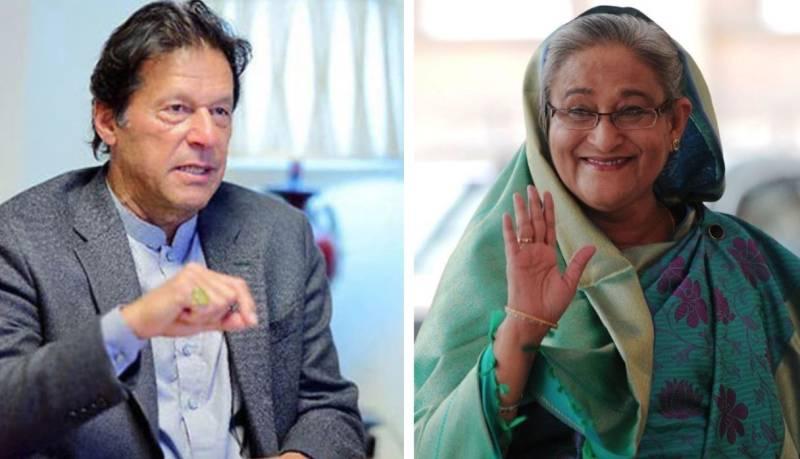 PM Imran congratulates Bangladesh's Hasina on golden jubilee, invites her to Pakistan