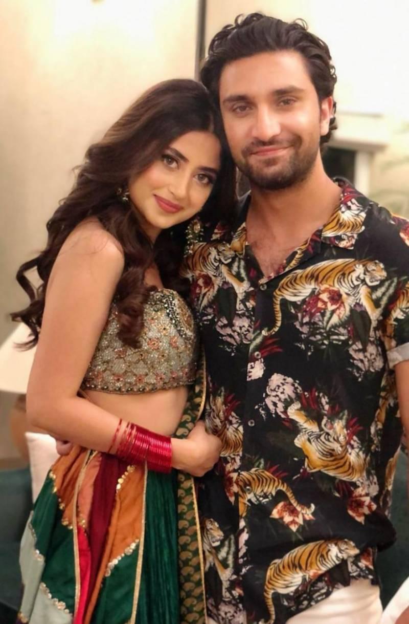 Sajal Aly and Ahad Raza Mir's beautiful pics break the internet