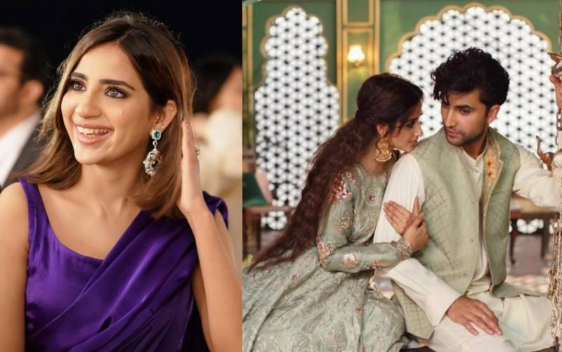 Saboor Aly reveals one thing that most people don't know about Ahad Raza Mir