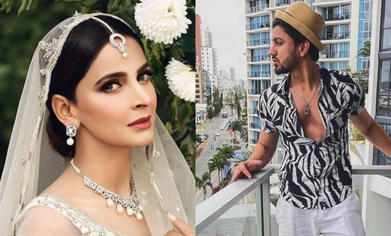 'I trust you' – Saba Qamar breaks silence on harassment allegations against beau Azeem Khan
