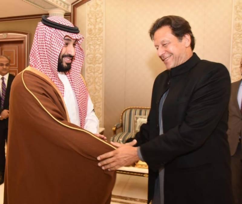 PM Imran accepts Prince Mohammad bin Salman's invitation to visit Saudi Arabia